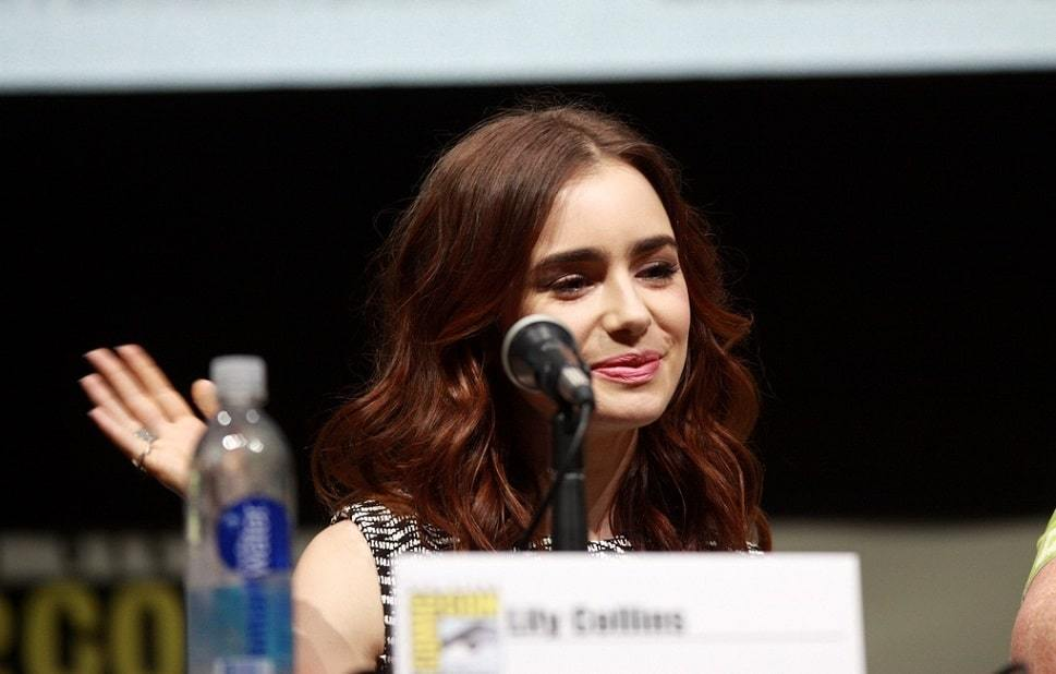 Lily Collins - History...