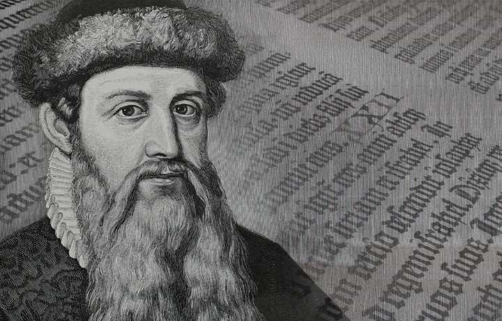 Biography of Johannes Gutenberg