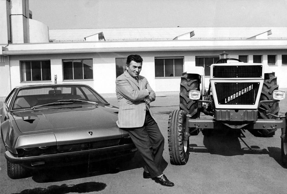 Ferruccio Lamborghini Biography