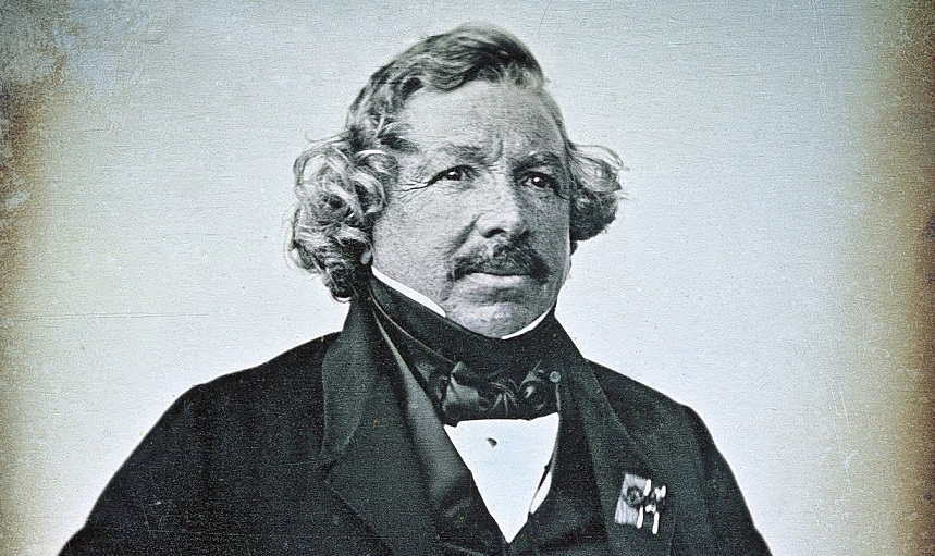 Louis Jacques Daguerre biography