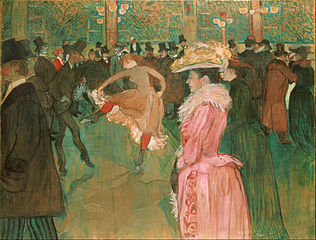 At the Moulin Rouge: The Dance (1890)
